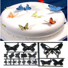 Patchwork Butterfly Embosser cutters