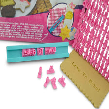 Cookie/ Fondant alphabet embosser imprint set