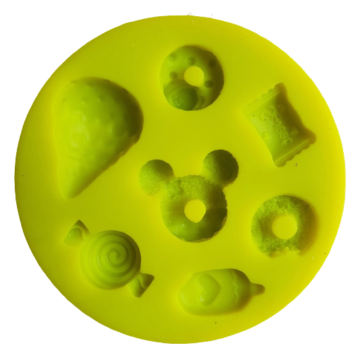 Mickey mouse candy ice cream silicone mould