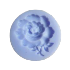 Small rose silicone mould, 2.8cm