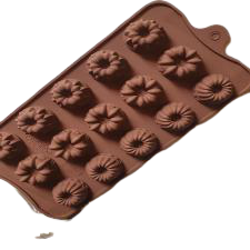 Chocolate truffle silicone mould, C