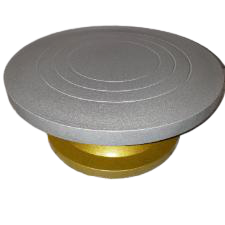 Heavy duty rotating cake stand. 34cm, turn table