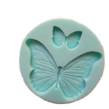 Butterfly silicone mould, 5.2x3.5cm, 2x1.3cm