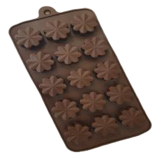 Chocolate truffle silicone mould Flower R