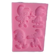 Smurf silicone mould, for fondant,