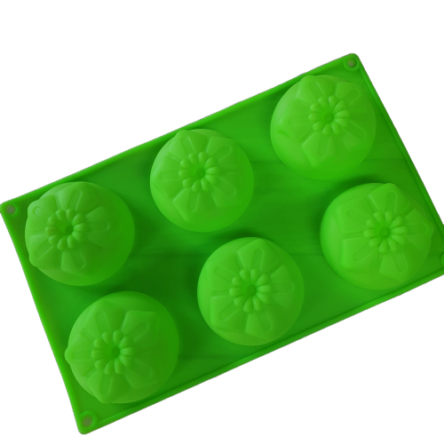 Flower silicone soap mould