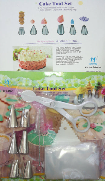 Cake decorating tool set, KY492