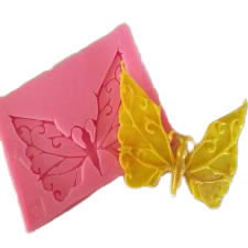 Butterfly silicone mould, 7x5cm