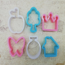 Variety pack plastic cookie cutter set, S771