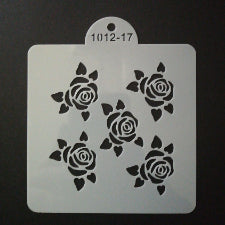Cake decorating stencil, 10x10cm, 1012-17