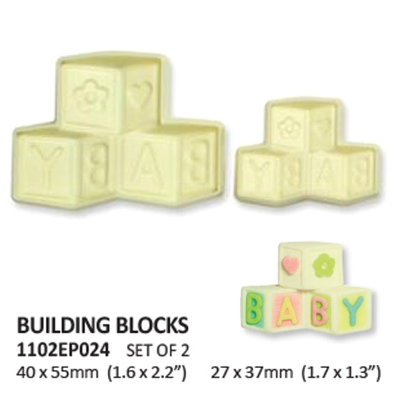 Baby Blocks pop it cutter set