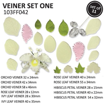 Veiner Leaf Cutter set one