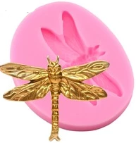 Dragonfly Silicone mould, 5.6x4.4cm