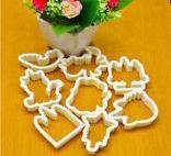 Unicorn plastic cookie cutter set, B