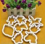 Unicorn plastic cookie cutter set, A