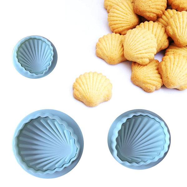 Sea Shell Fondant plunger cutter
