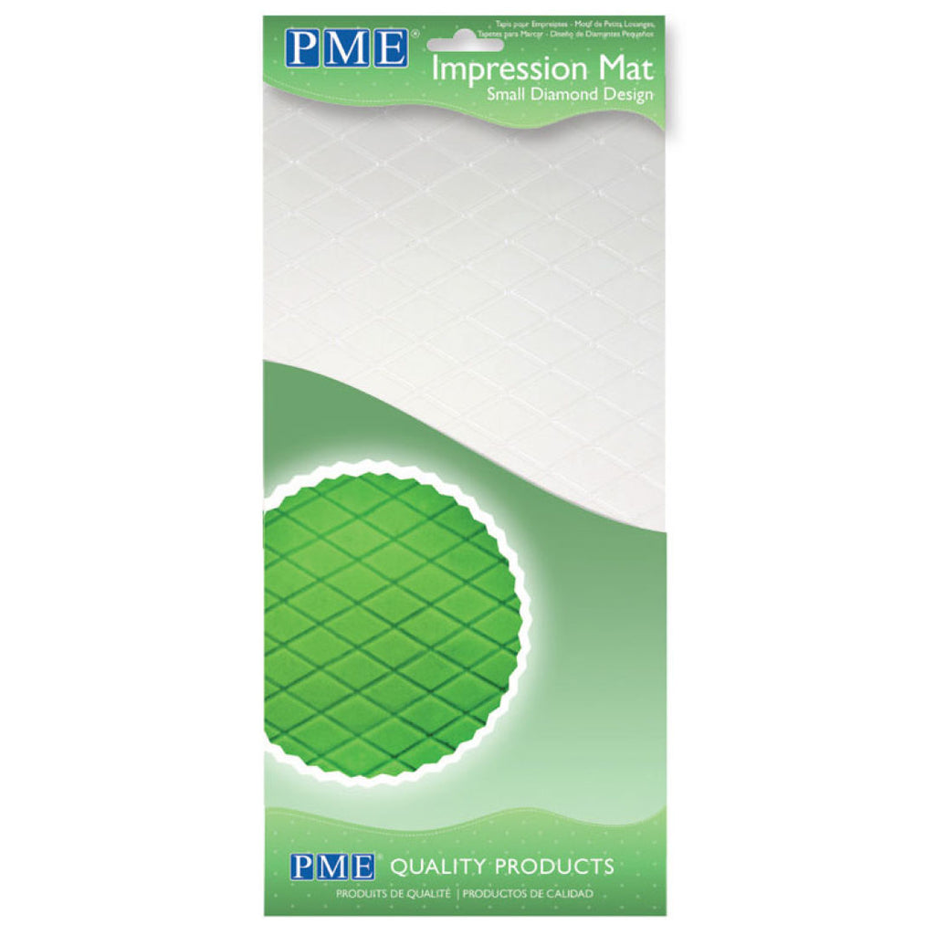 PME Small Diamond Impression mat