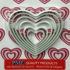 PME Large shape cutter set, Heart