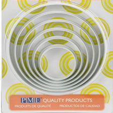 PME Large shape cutter set, Round