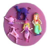Aladdin silicone fondant Mould size of mould is 8cm