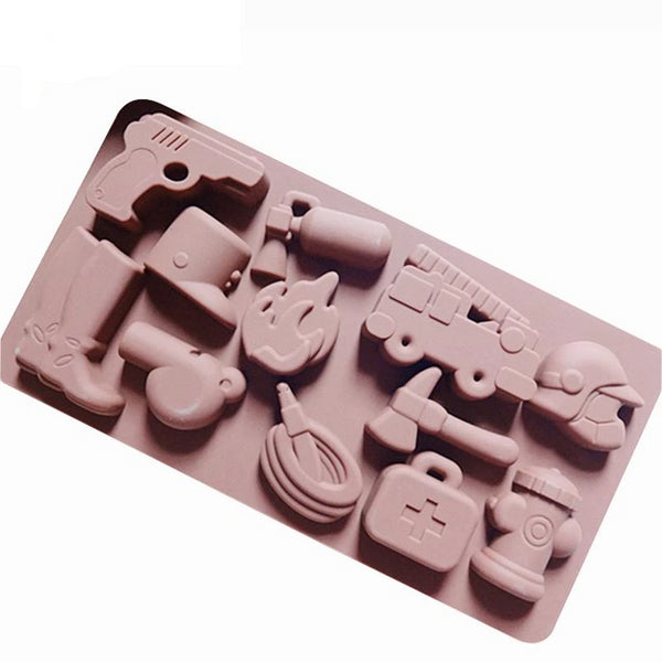 Army and fire  silicone mould, AJ