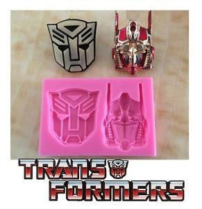 Transformers silicone mould, for fondant, size 4x5cm
