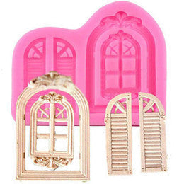 Retro Window Silicone Mould, size of mould 10.5x8cm