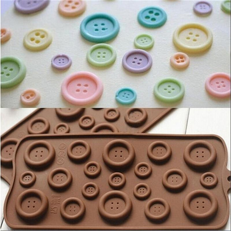 Chocolate Button silicone mould