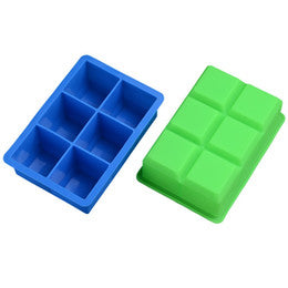 Silicone Cube Block soap silicone mould, size of one block 4.7x4.7x4.9cm