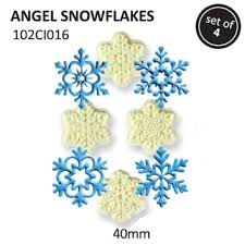 PME Angel snowflake cutters