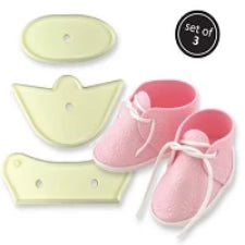 Baby bootee fondant cutter