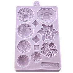 Brooch silicone mould