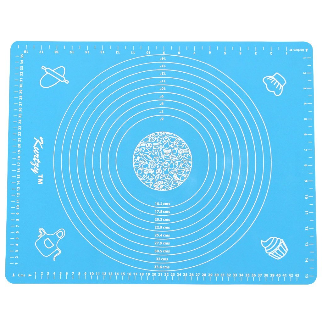 Fondant mat with measurements, colors may vary, sixe of mat 40x50