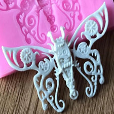 Butterfly silicone mould, 6.5x3.5cm