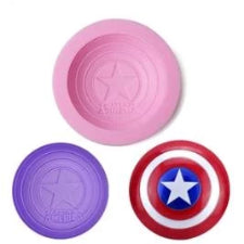 Captain America silicone mould,  fondant, size of mould 6.5cm