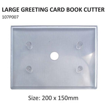 PME Large greeting card book cutter