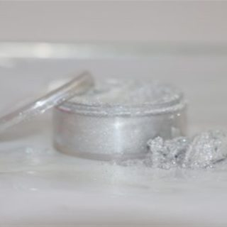 Rolkem Chiffon Powder, Silver Lame 10ml
