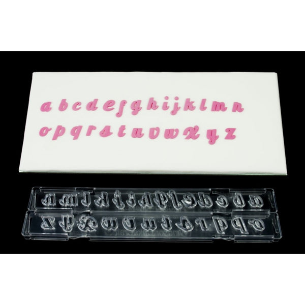 Lower case Alphabet and number tappit clix embosser cutter