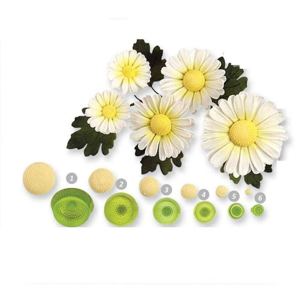 Daisy centres pop it cutter set