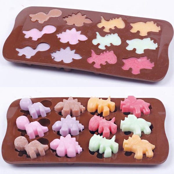 Chocolate truffle silicone mould Dino, E