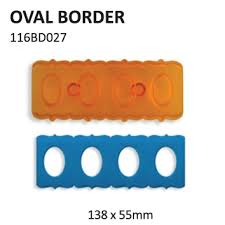 PME Oval border cutter