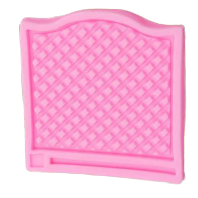 Fence gate silicone fondant mould. size of mould 9.5x9cm