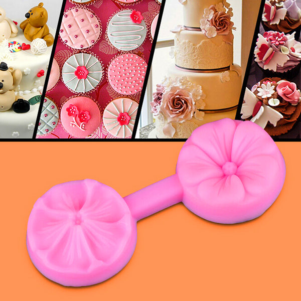Flower Silicone press mould