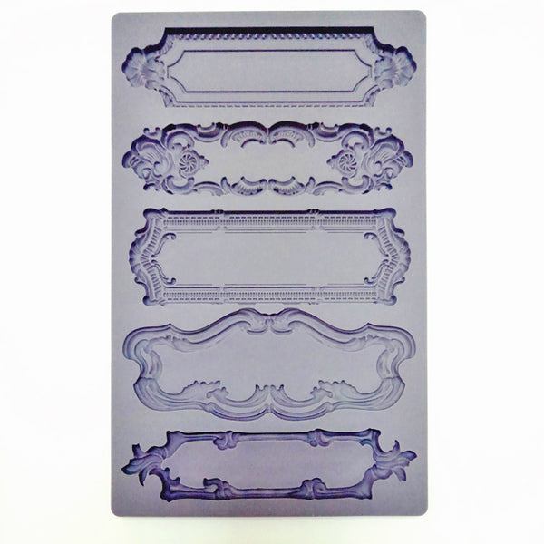 Frames silicone mould