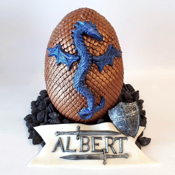 Game of Thrones Dragon silicone mould, 15x10cm