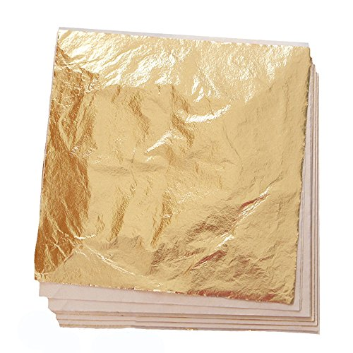Edible Gold Leaf sheet, single sheet, 15x15cm