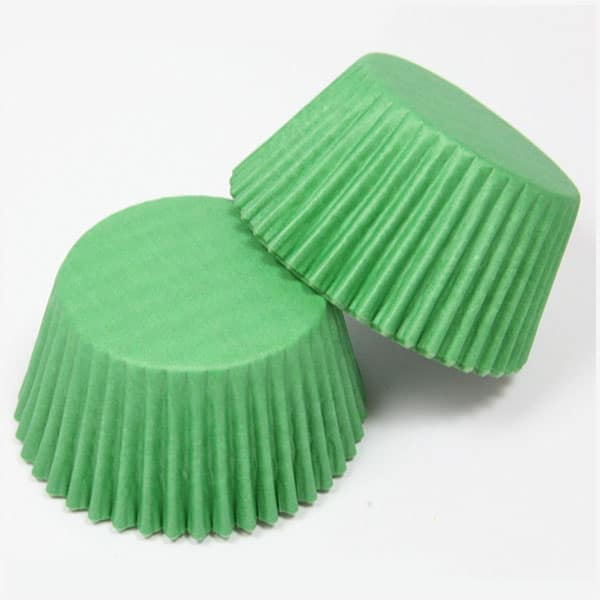300 piece Green Cupcake holders wrappers