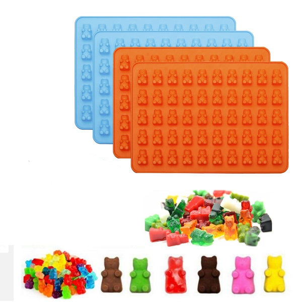 Gummy bear silicone mould, 1.9x1cm