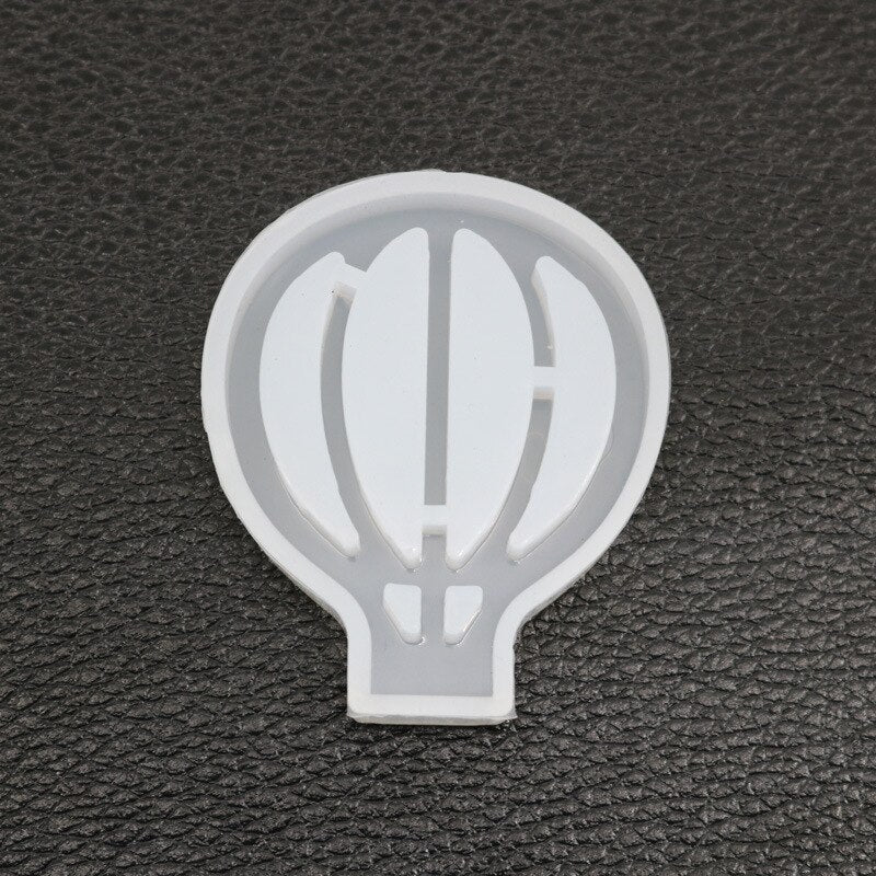 Hot Air Balloon Resin Mould, 4x4.7cm