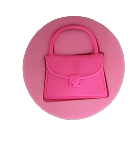 Handbag silicone mould, 3.8x4cm